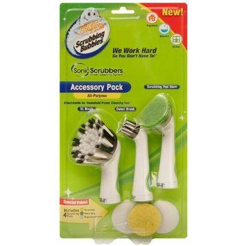 SonicScrubbers HALG Scrubbing Bubbles Household All Purpose Accessory Pack