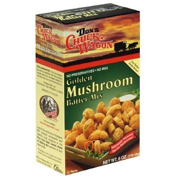 Don's Chuck Wagon Mushroom Batter Mix, 5-Ounce (Pack of 12)