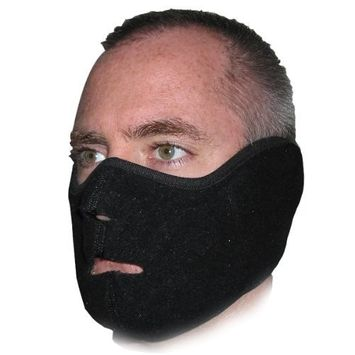 Heat Factory Fleece Face Mask for use with Hand Heat Warmers
