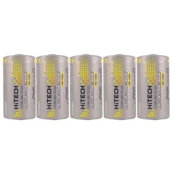 Hitech C Size Rechargeable Batteries Consumer Ni-Mh 5000mAh*Tech QC-USA#1 height capacity power battery