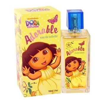 DORA THE EXPLORER by Compagne Europeene Parfums for WOMEN: ADORABLE EDT SPRAY 3.4 OZ