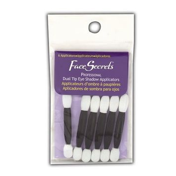 Face Secrets Double-Ended Eye Shadow Applicators