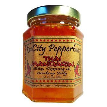 Thai Mandarin Pepper Jelly 12oz [Thai Mandarin]