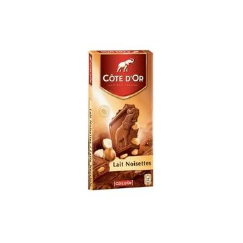 Cote d'Or Belgian Milk Chocolate With Whole Hazelnuts 7 oz.