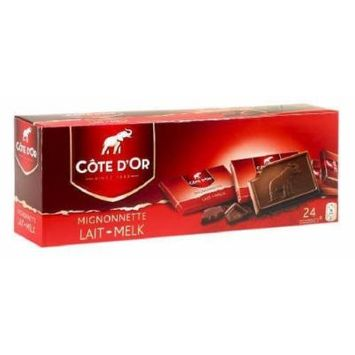 Cote D'or Mignonettes Milk Chocolate 8.4oz (Pack of 2)