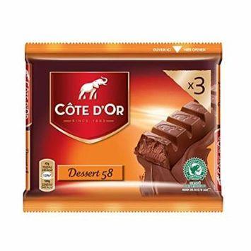 Cote D'Or , Candybars , Dessert 58 , 3x45gr - 135gr/0.31oz