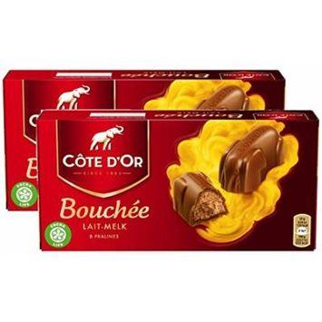 Cote d'Or Bouchee Premium Belgian Milk Chocolate, 200g/7oz (Pack of 2)