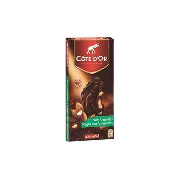 Cote D'Or Dark Chocolate w/Almonds 200 g.