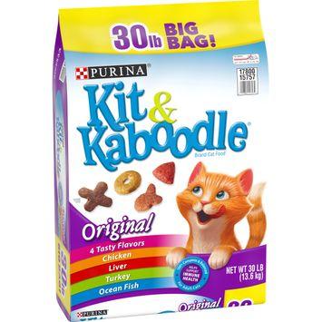 Purina Kit & Kaboodle Dry Cat Food; Original - 30 lb. Bag