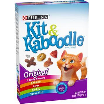 Purina Kit & Kaboodle Original Adult Dry Cat Food - 18 oz. Box