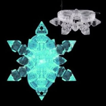 Color Changing Snowflake Hair Clip