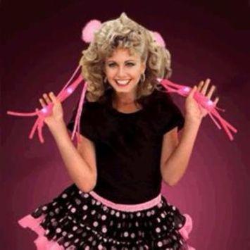 Noodle Ribbon Hair Clip Pink