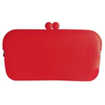 HACHI Silicone Wallet /Accessory Case- Red