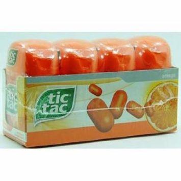Product Of Tic Tac, Mint Orange - Bottle, Count 4 (3.4 oz) - Mints / Grab Varieties & Flavors