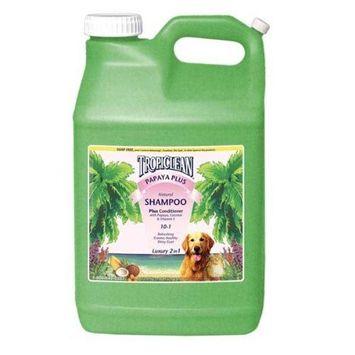TropiClean Papaya and Coconut Pet Shampoo
