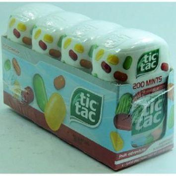 Product Of Tic Tac, Mint Fruit Adventure - Bottle, Count 4 (3.4 oz) - Mints / Grab Varieties & Flavors