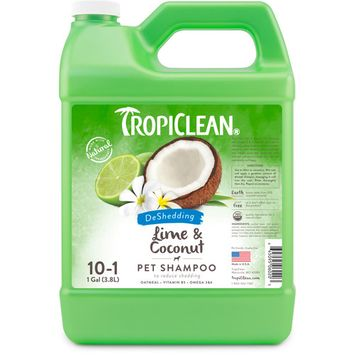 TropiClean Lime & Coconut Pet Shampoo, 1 Gal