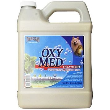 Tropiclean Oxy Medicated Shampoo for Puppies and Kittens [Medicated Oatmeal Treatment]