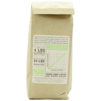 Tiny Footprint Coffee Organic Signature Blend Decaf, Whole Bean Coffee, 1 Pound [Whole Bean]