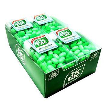 Product Of Tic Tac, Mint Spearmint Mix Pack, Count 12 (1 oz) - Mints / Grab Varieties & Flavors