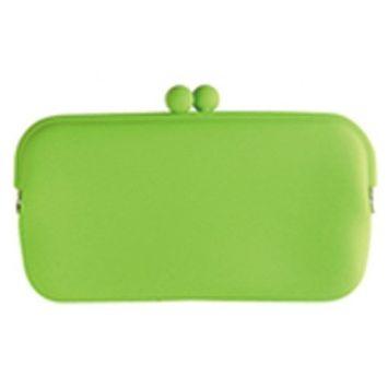 HACHI Silicone Wallet /Accessory Case- Green