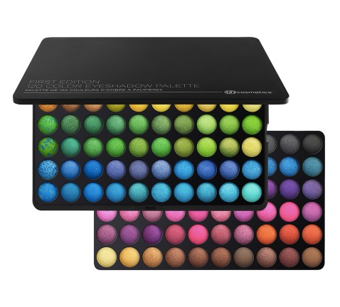 BH Cosmetics 120 Eyeshadow Colors Palette 3rd Edition Test