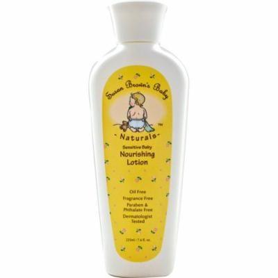 Susan Brown's Baby, Sensitive Baby, Nourishing Lotion, Fragrance Free, 7.6 fl oz(pack of 1)
