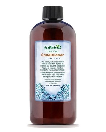 Just Natural Products Natural Itchy Scalp Conditioner
