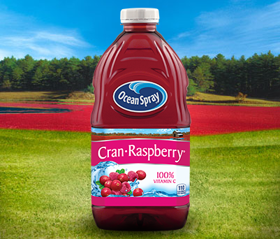 Ocean Spray Cran Raspberry Cranberry Raspberry Juice Drink