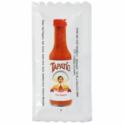 Tapatio Hot Sauce - 50 1/4 oz. Travel Packets Pack of 50