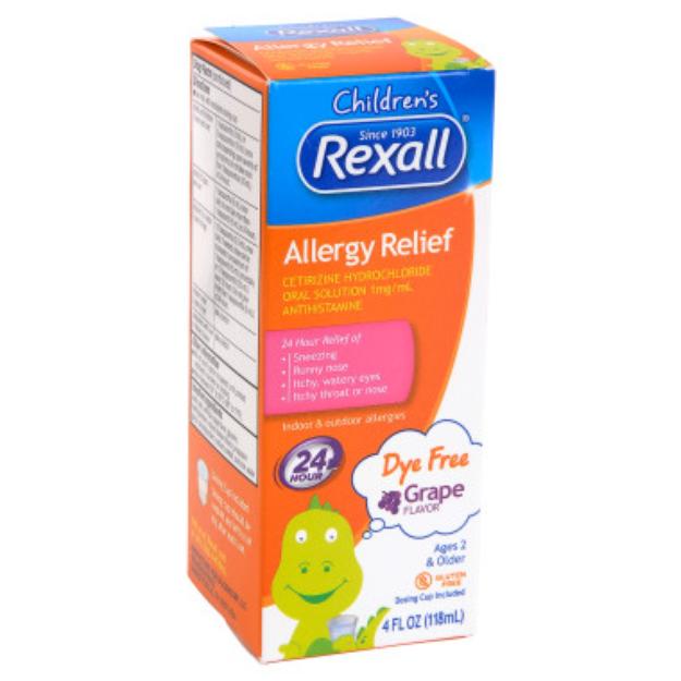 Rexall Children's Allergy Relief - Grape