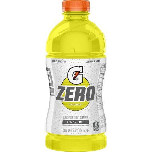 Gatorade G Zero Thirst Quencher, Lemon-Lime, 28 oz Bottle