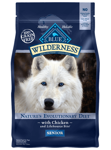 THE BLUE BUFFALO CO. BLUE™ Wilderness® Chicken For Senior Dogs
