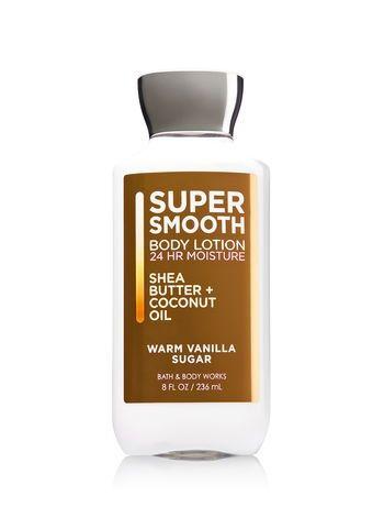 Bath & Body Works® WARM VANILLA SUGAR Super Smooth Body Lotion