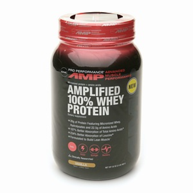 GNC Pro Performance AMP Amplified 100% Whey Protein
