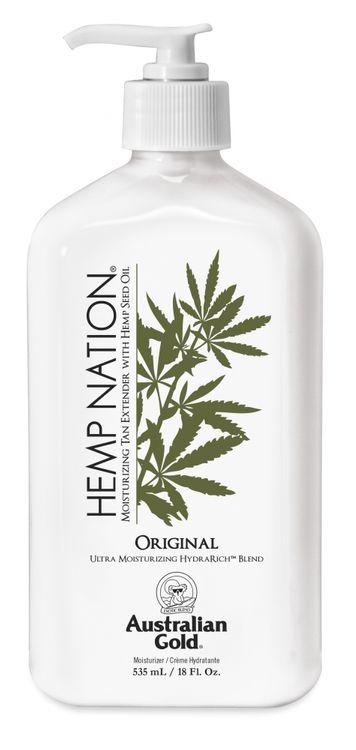 Australian Gold® HEMP NATION® Original Moisturizing Tan Extender With Hemp Seed Oil