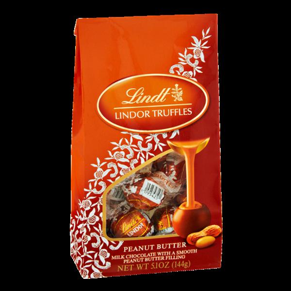 Lindt Lindor Peanut Butter Truffles