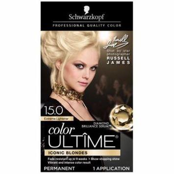 Schwarzkopf Color Ultime Hair Color Cream, 15.0 Extreme Lightener