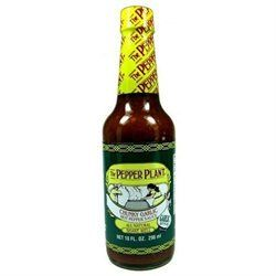 The Pepper Plant Chunky Garlic Hot Pepper Sauce 10 oz.