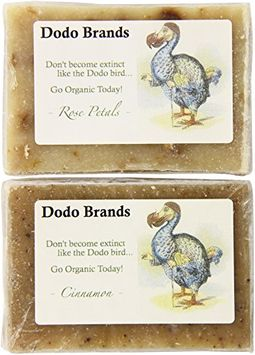 Dodo Brands Two Organic Botanical Soaps