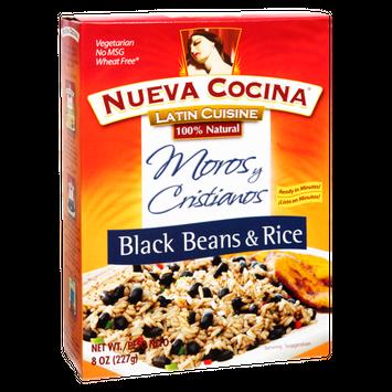 Nueva Cocina  Latin Cuisine 100% Natural Black Beans & Rice