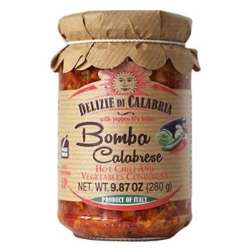 Bomba Calabrese Italian Hot Sauce Spread 9.87 oz - Pack of 2