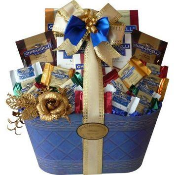 Love and Joy of Ghirardelli Chocolate Gift Basket
