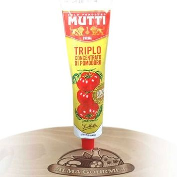 Mutti Triple Concentrated Tomato Paste, 6.5 oz. Tube, 2-Pack