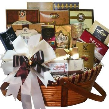 Art of Appreciation Gift Baskets Chocolate Treasures Gourmet Food Gift Basket [Multiple Delivery Options, 96 Ounce]