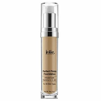 Jolie Perfect Finish Liquid Foundation Makeup SPF 15 Oil Free (LW3)