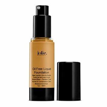 Jolie Oil Free Liquid Foundation - Matte Finish (Almond)