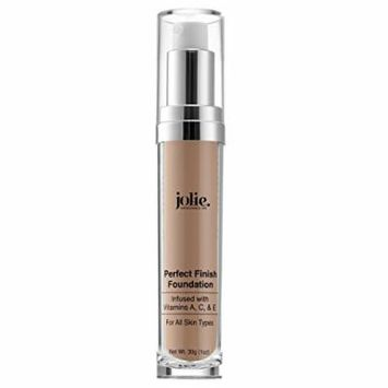 Jolie Perfect Finish Liquid Foundation Makeup SPF 15 Oil Free (LC2)