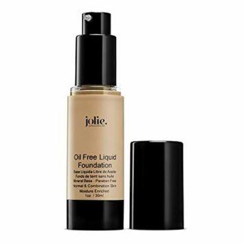 Jolie Oil Free Liquid Foundation - Matte Finish (Beige Glow)
