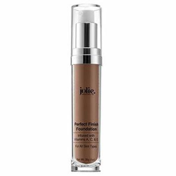 Jolie Perfect Finish Liquid Foundation Makeup SPF 15 Oil Free (DW2)